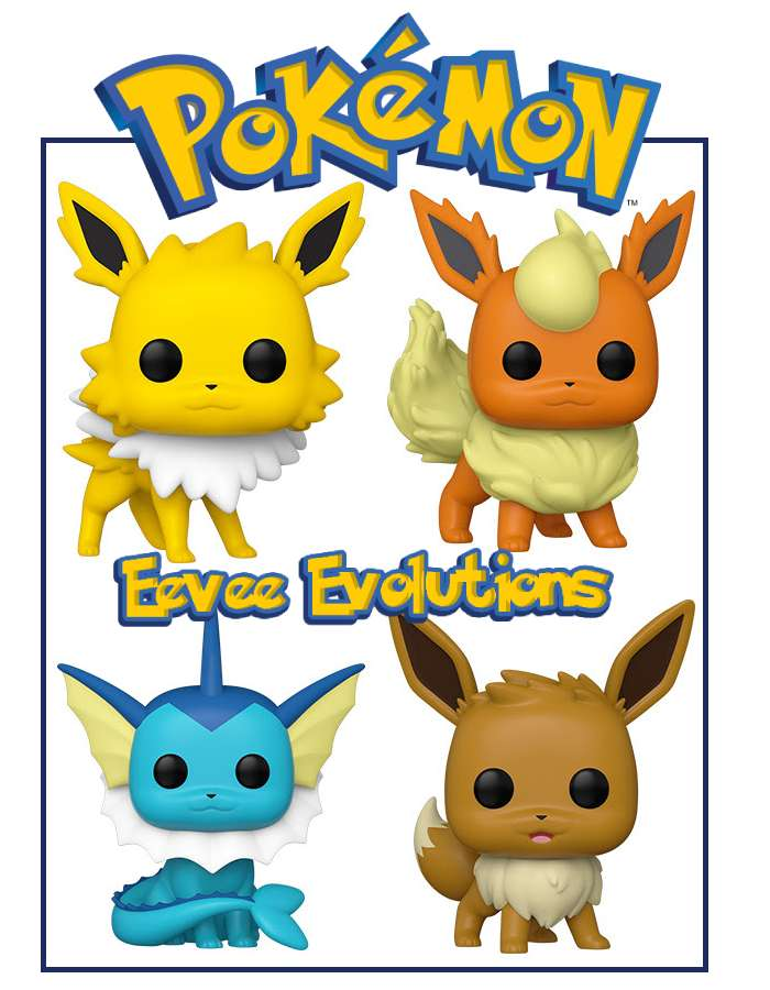 POP GAMES POKEMON SERIES 4 COMPLETE SET (POKE4SET)