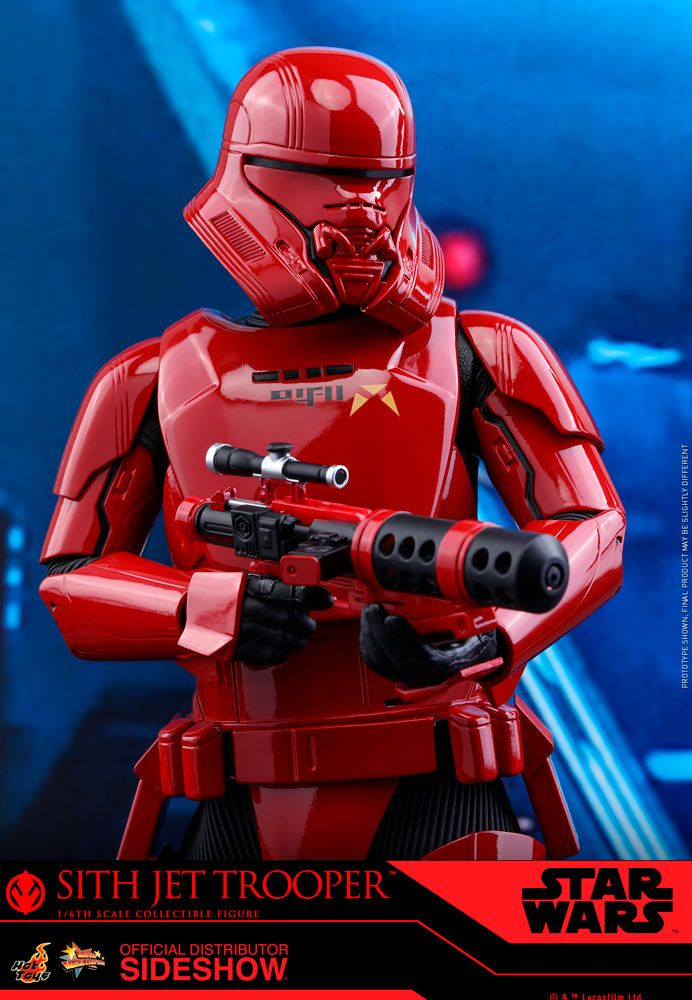 SITH JET TROOPER SIXTH SCALE FIGURE (905634)