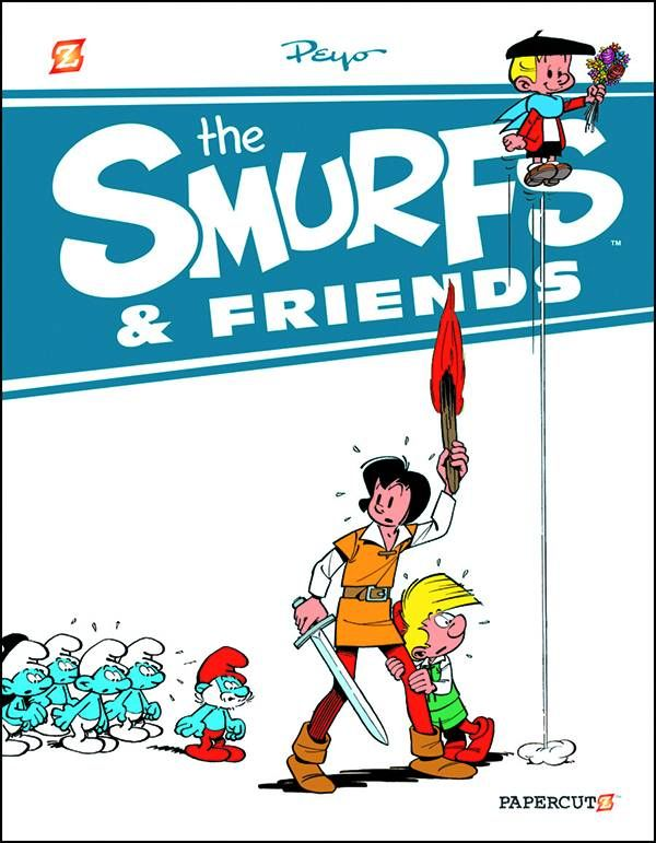 SMURFS AND FRIENDS HC 01